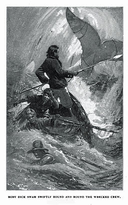 an analysis of captain ahab in moby dick by herman melville A short summary of herman melville's moby-dick  how to write literary analysis suggested essay  they also mention the ship's mysterious captain, ahab,.