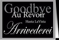Business Goodbye Farewell Card - Product #264016