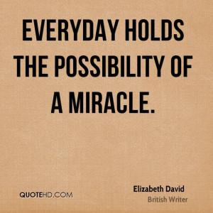 Elizabeth David Quotes
