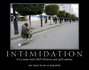 Intimidation Pictures