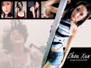 Zhou Xun Wallpaper picture