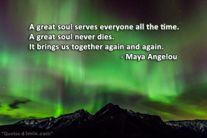 Maya Angelou Sympathy Quotes