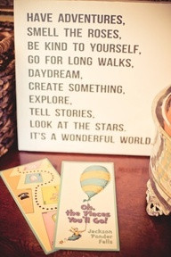 dr. seuss the places youll go - quotes