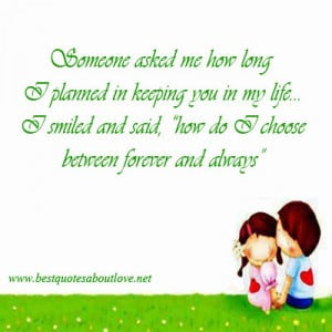 love forever and always quotes