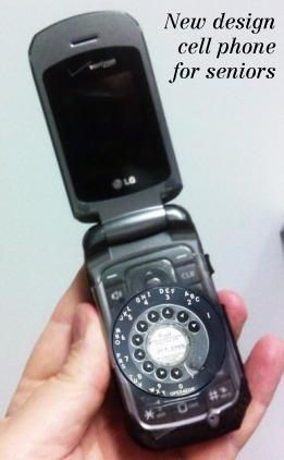 New Design Cell Phone for Seniors ... I want one