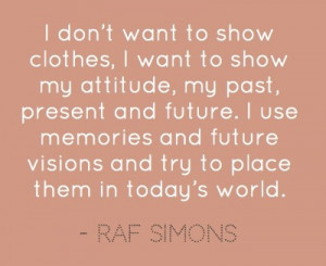 Raf Simons, Artistic Director, Dior