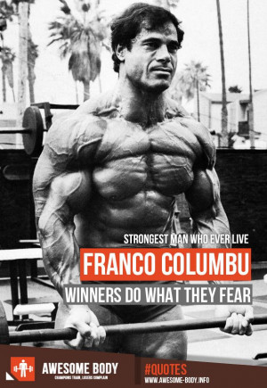 Franco Columbu Quotes | Mr Olympia winners Quotes | Strongest Man