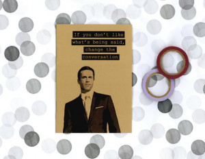 Don Draper quote notebook - Mad Men journal - Jon Hamm - Sterling ...