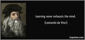 More Leonardo da Vinci Quotes
