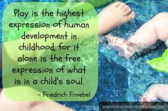 Play & Learn Everyday: Play Based Learning quote from Albert Einstein ...