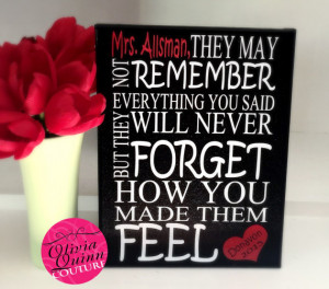 Maya Angelou Teacher Appreciation Christmas Motivational Quote Artwork ...