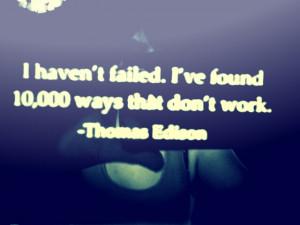 Thomas Edison Quote by Picnic-Power