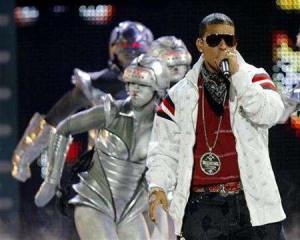 Puerto Rican reggaeton artist Daddy Yankee performs at the ''Premios ...