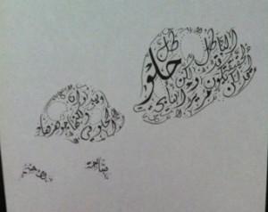 Arabic Calligraphy Custom - Imam Al i Quotes ...