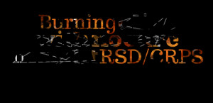 Quotes Picture: burning alive with no cure in sight rsd/crps