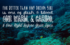 inspirational disney quotes - grimsby - the little mermaid