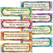 mini bulletin board set character quotes mini bulletin board set