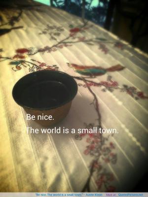 "town."" ~ Austin Kleon motivational inspirational love life quotes ..."