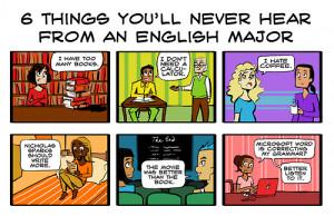 English Major Humor