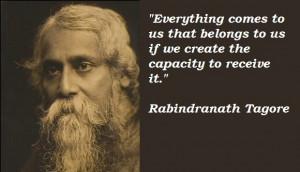 Rabindranath Tagore gitanjali quotes