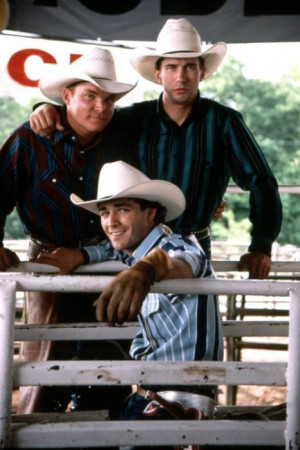 The film version: Cody Lambert, Tuff Hedeman, Lane Frost.