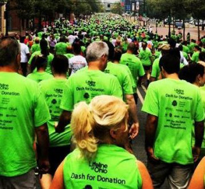 The sea of green will over downtown Columbus on the July 13th Dash for ...