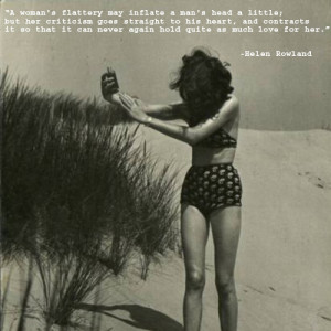Helen Rowland Quotes Funny And