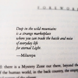 wallpaper with quote on eternal light by milarepa motivational quotes