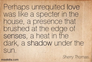 Unrequited Love Sherry Thomas
