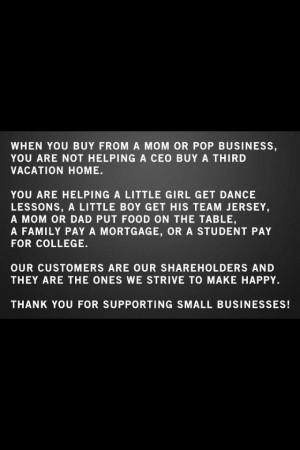 Shop Small!~