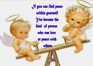 If You Can Find Peace Within Yourself You Become The Kind Of Person ...
