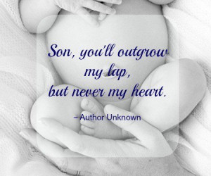 New born baby boy quotes