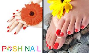 29 manicure & pedicure at Posh Nail, worth $60