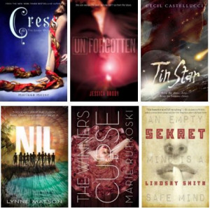 ... , The Winner's Curse by Marie Rutkoski and Sekret by Lindsay Smith