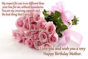 Happy Birthday Wishes for Mother Quotes