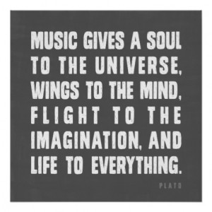 Music Gives Soul The Universe