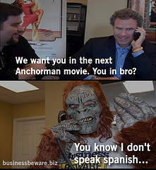 Anchorman 2 Meme Blind Will farrell and new anchorman