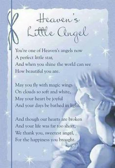 Angels In Heaven Quotes Like. mummys little angel in