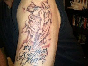 my brothers keeper tattoo
