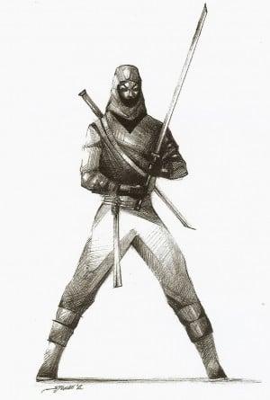 Ancient Japanese Ninja Weapons