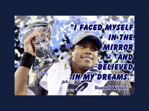 Russell Wilson MiniPoster Seattle Seahawks by ArleyArtEmporium, $11.99