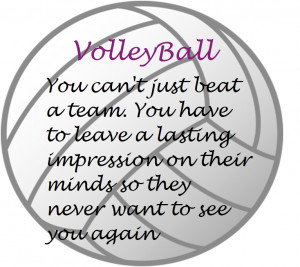 volleyball freaks Quote