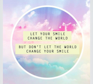 cute quote beautiful sky pink world smile