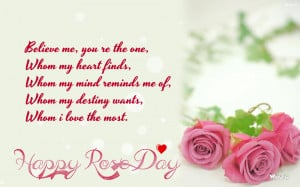 Happy Rose Day Quotes: