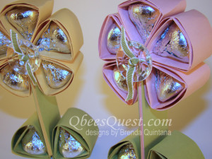 Hershey's Kisses Flower Tutorial