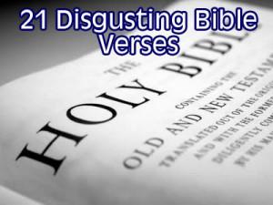21 disgusting bible verses
