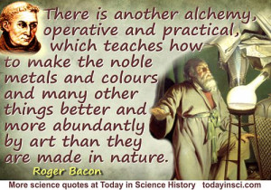 Science Quotes by Roger Bacon (11 quotes)