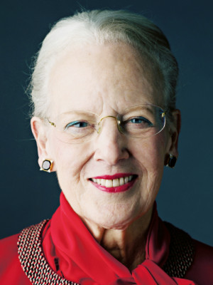 new portrait released of Queen Margrethe II of Denmark in connection ...