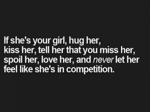 WELL SAID!!! I FEEL LIKE IM IN A COMPETITION WITH GIRLS I DONT EVEN ...