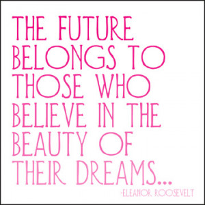 The Future Belongs Quotable Card and Magnet